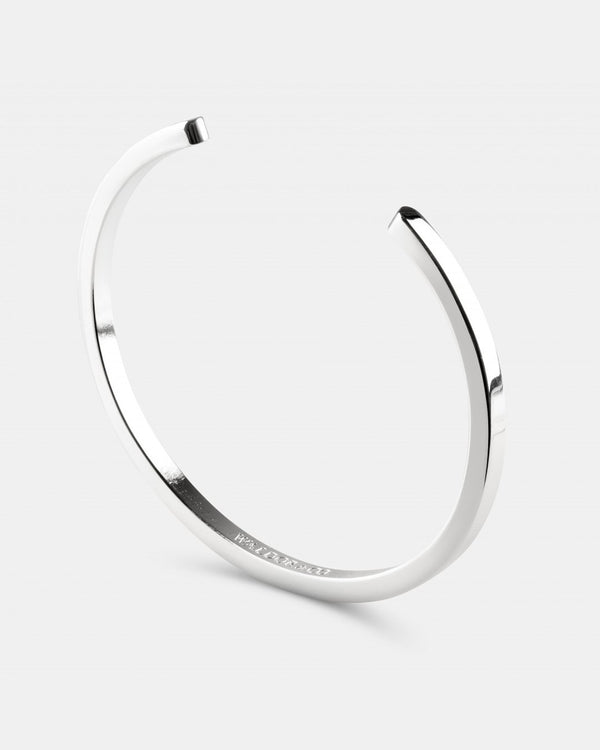 Square Bangle Polished - Waldor & Co.