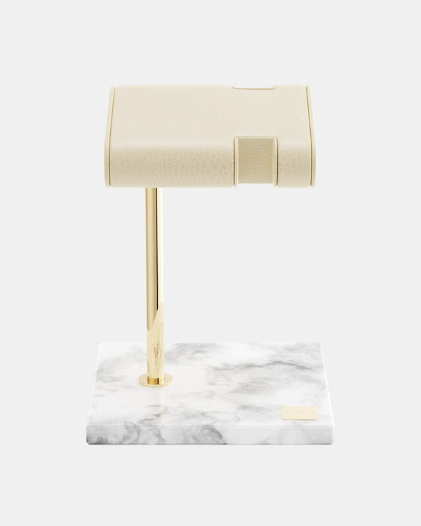 Watch & Bracelet Stand Marble Gold