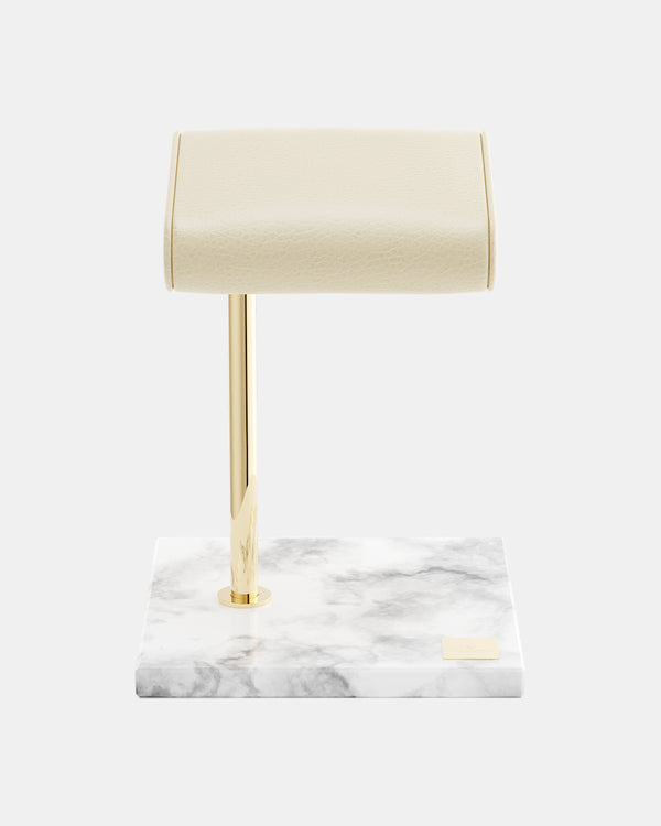 Watch Stand Marble Gold