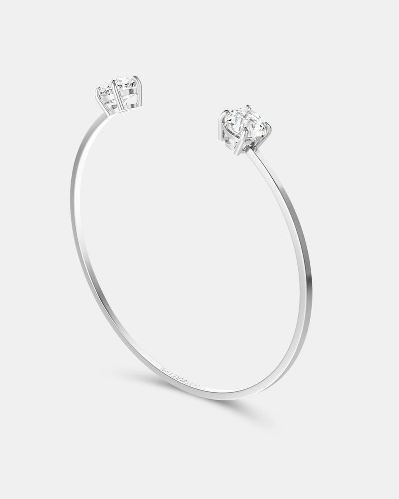 Imperial 36 Amalfi + Zircon Bangle - Waldor & Co.