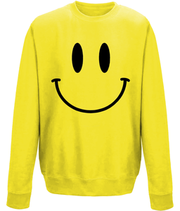 Smiley Face Yellow Sweater Kids sweater