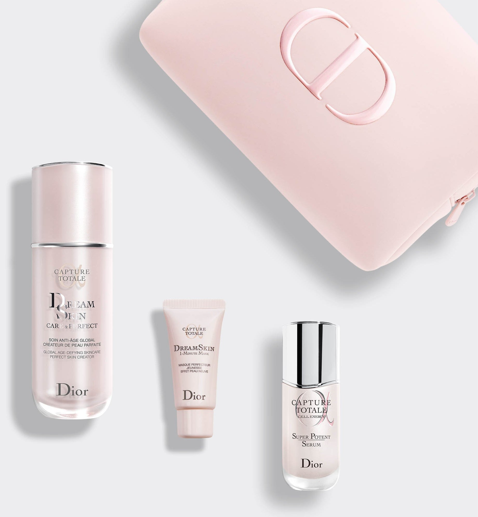 Capture Totale Dreamskin The Total Age-Defying Perfect Skin Creator Ritual - Skincare Fluid, Face Mask and Serum