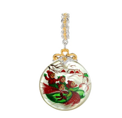 Gems en Vogue Choice of Theme Painted shell Charm