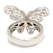 Load image into Gallery viewer, Gems en Vogue 0.86ctw Alexandrite 10-Stone Butterfly Ring