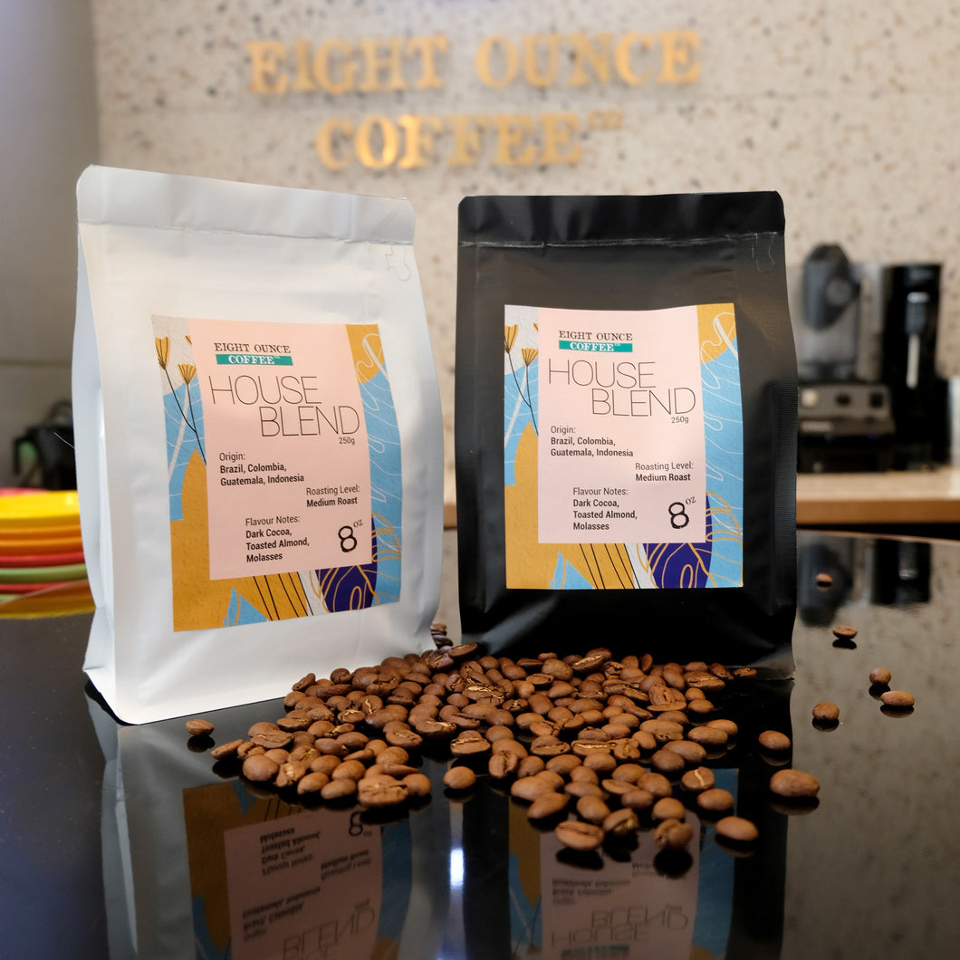 Coffee Beans (Eight Ounce Coffee Co. House Blend)