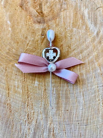 Rose Gold Pearl Pin Head Martyiko/Witness Pin