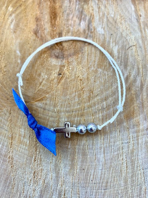 Royal Blue Bracelet Martyiko/Witness Pin
