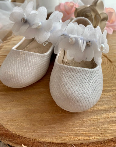 Diamond and Pearl Floral Walking Shoe