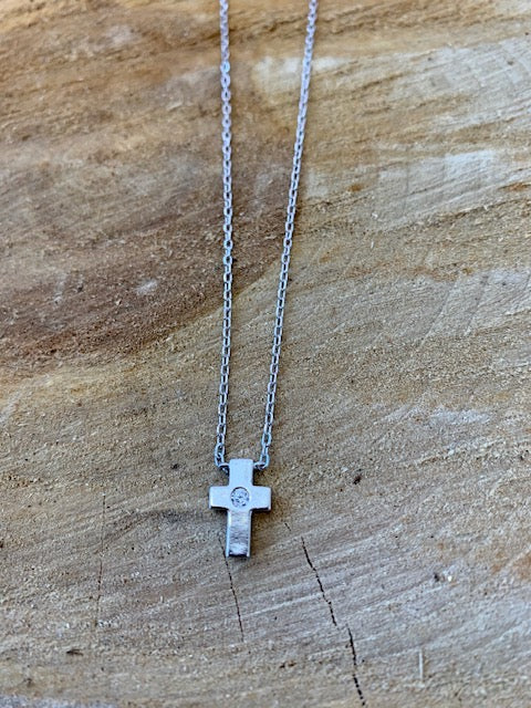 Sterling Silver Small Cross