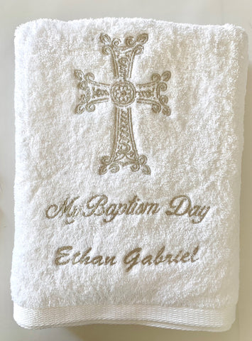 Embroidered Personalized Towel