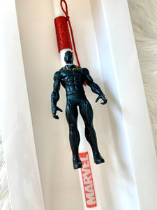 Black Panther Easter Candle
