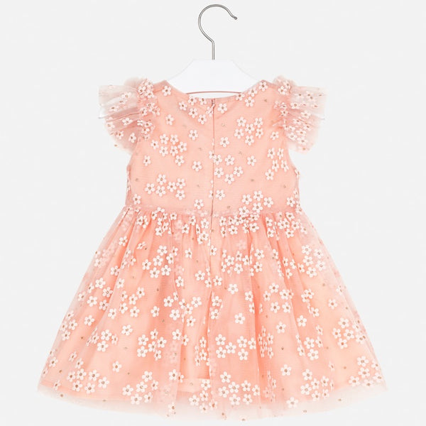 Mayoral Flower Tulle Dress