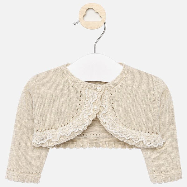 Rebeca's Golden Ceremony Cardigan