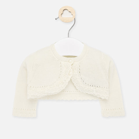 Rebeca's Off White Ceremony Cardigan