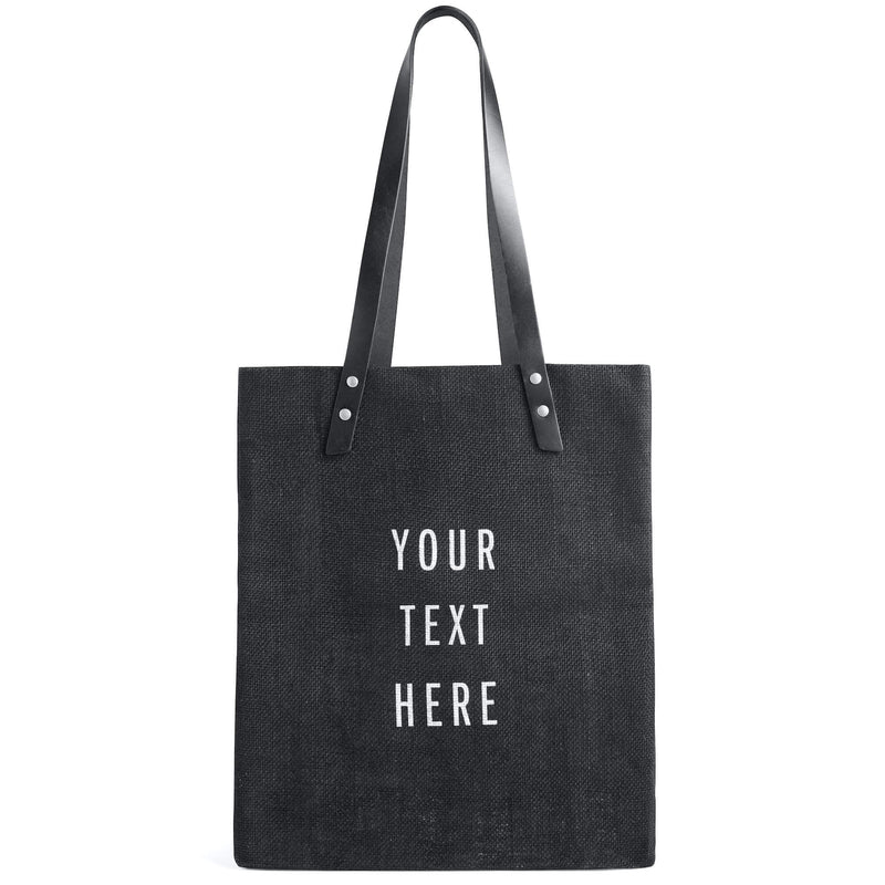Limited Edition Market Tote in Black