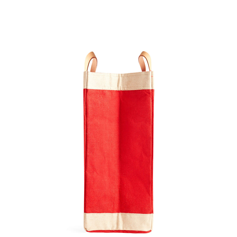 Market Bag in Red