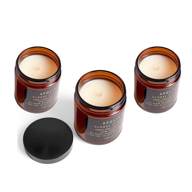 description_A blend of 100% domestically-grown coconut & soy wax, with a cotton-core wick. Plus, phthlate-free and paraben-free