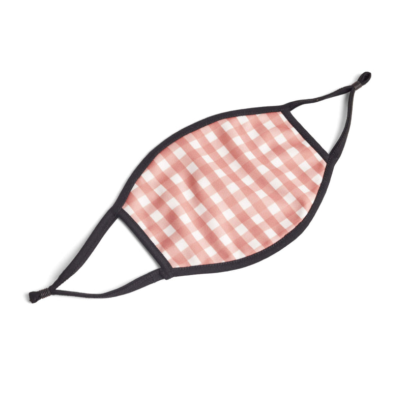 Adult Face Mask in Dusty Pink Gingham