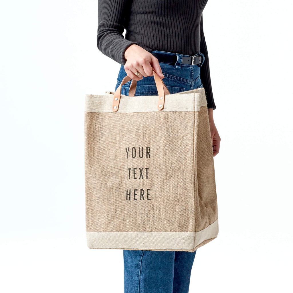 Tote Bag Add your name or any other text Personalized Love Forever