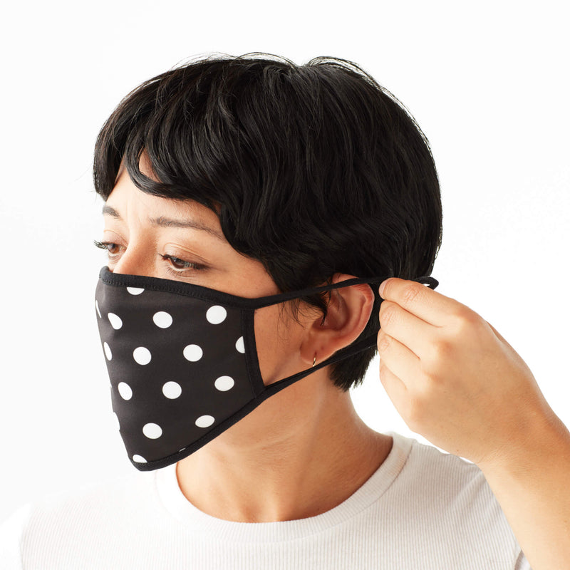 5-Pack of Adult Face Masks in Black & White