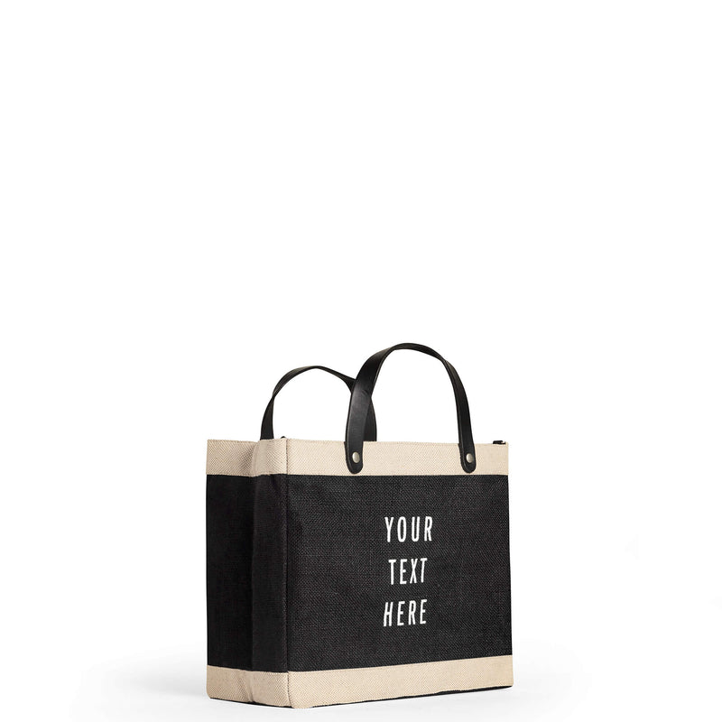 Petite Market Bag in Black