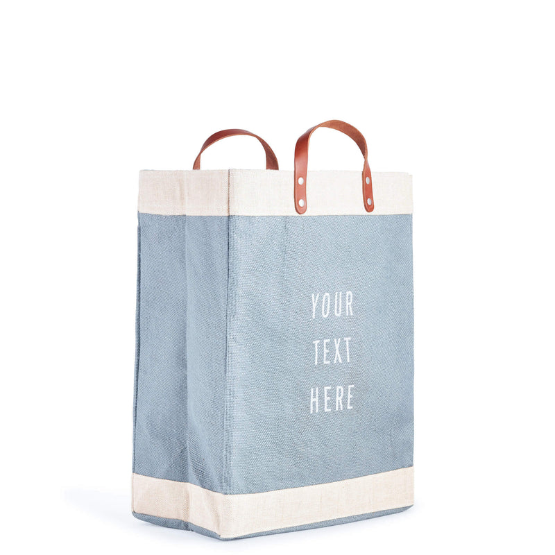 Market Bag in Cool Gray