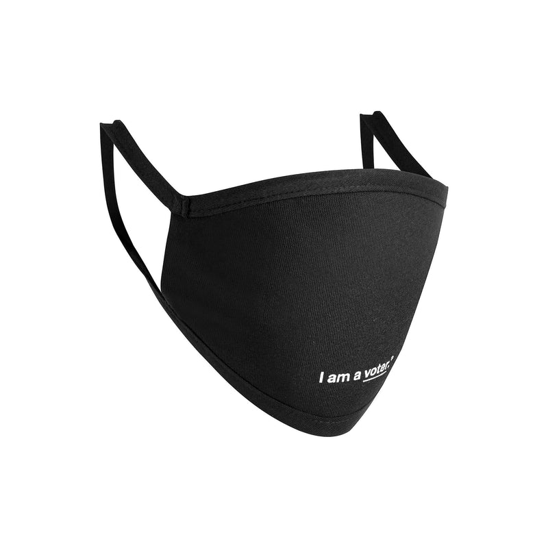 I am a voter® Premium Cotton Face Mask in Black