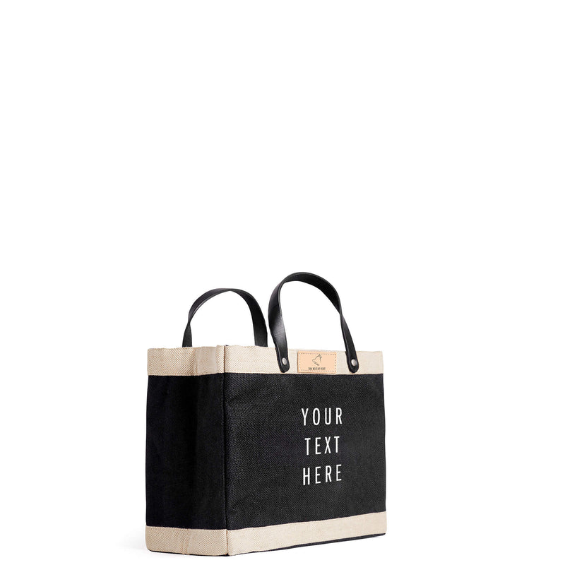 Petite Market Bag in Black for Tuna Melts My Heart