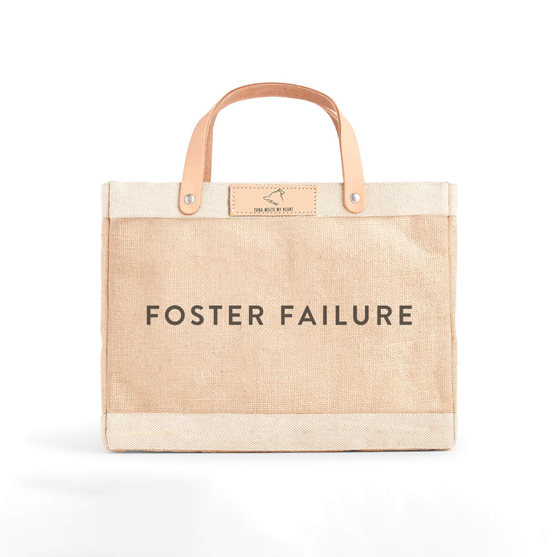"Petite Market Bag in Natural for Tuna Melts My Heart with ""Foster Failure"""