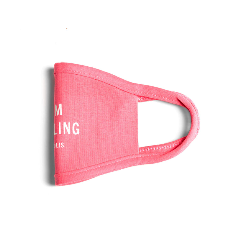 Premium Cotton Face Mask in Pink