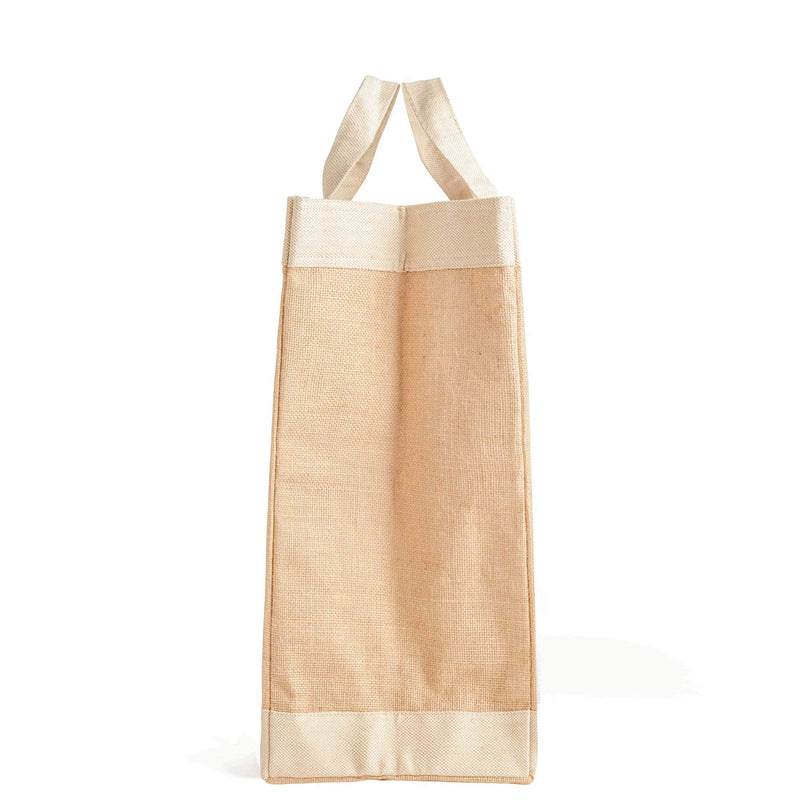 Vegan Market Bag in Natural: 100% Leather-Free