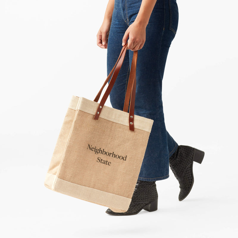Market Tote in Natural for the James Beard Foundation