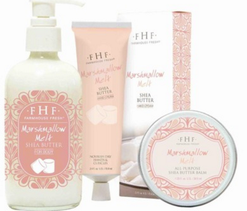 marshmallow melt collection Luxurious hand cream with body nourishing moisture.