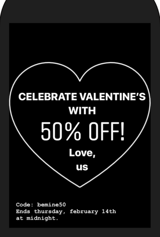 valentine day sale wish.list boutique