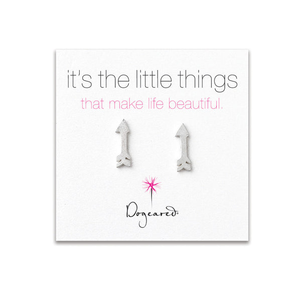 It's the Little Things - Silver Arrow Studs - wish.list boutique