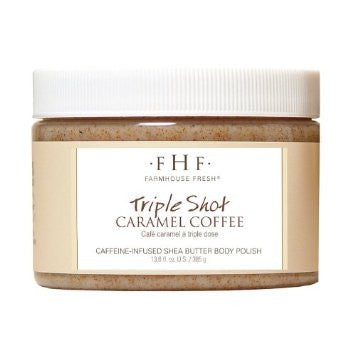 Triple Shot Caramel Coffee Scrub - wish.list boutique