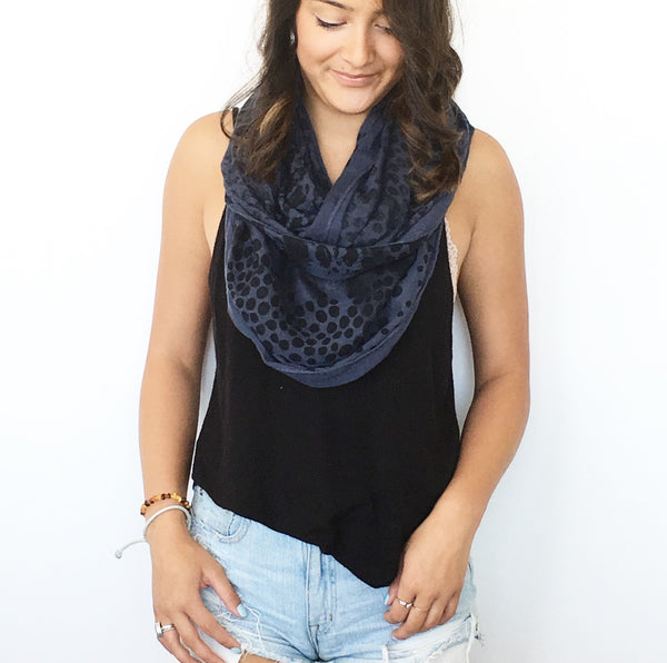 Leopard Infinity Scarf - wish.list boutique