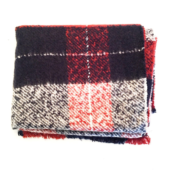 Lumberjack Blanket Scarf - wish.list boutique