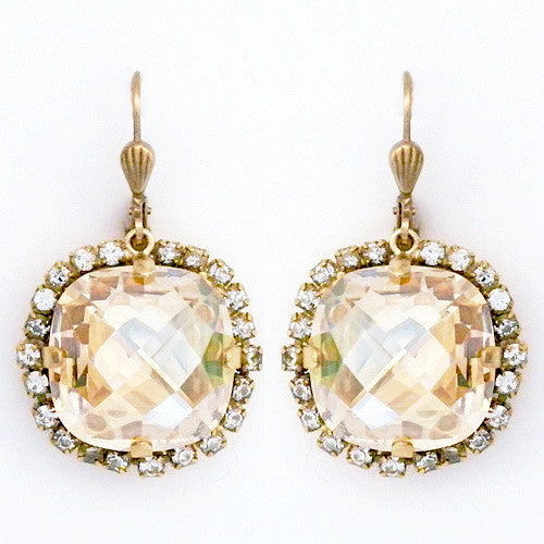 Crystal Earrings - wish.list boutique