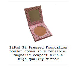 PiPod Pressed Mineral Foundations - wish.list boutique