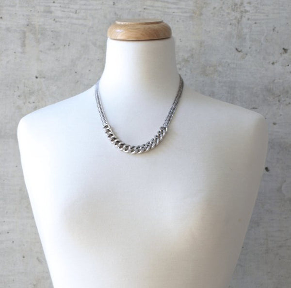 Silver Chain Necklace - wish.list boutique