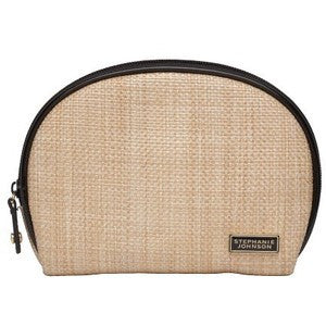 Fiona Dome Cosmetic case - Napa - wish.list boutique