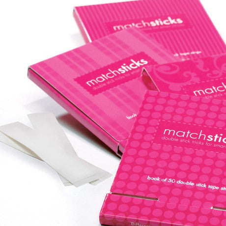 Matchsticks - Double Stick Tape - wish.list boutique