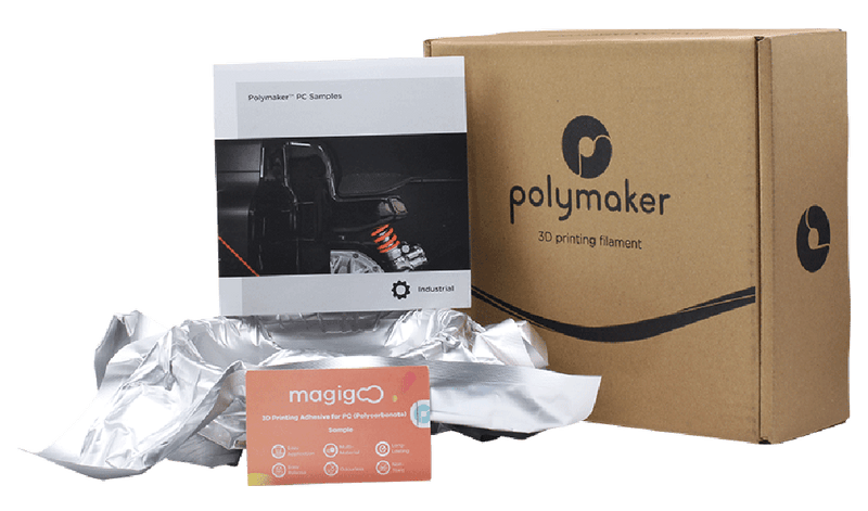 Polymaker | Sample Box 4 (PC, PC-ABS, PC-PBT) - 3D FACTORY MX