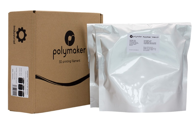 Polymaker | Sample Box 3 (PA6-CF, PA-GF) - 3D FACTORY MX