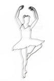 Ballerina Metal Wall Decor and Wall Art