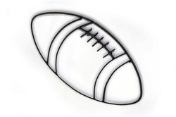Football Metal Wall Decor