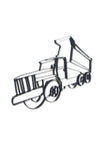 Dump Truck Metal Wall Decor and Wall Sculpture