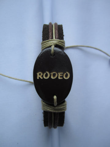 Rodeo Leather Bracelet