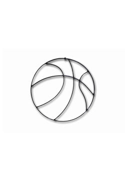 Basketball Metal Wall Decor
